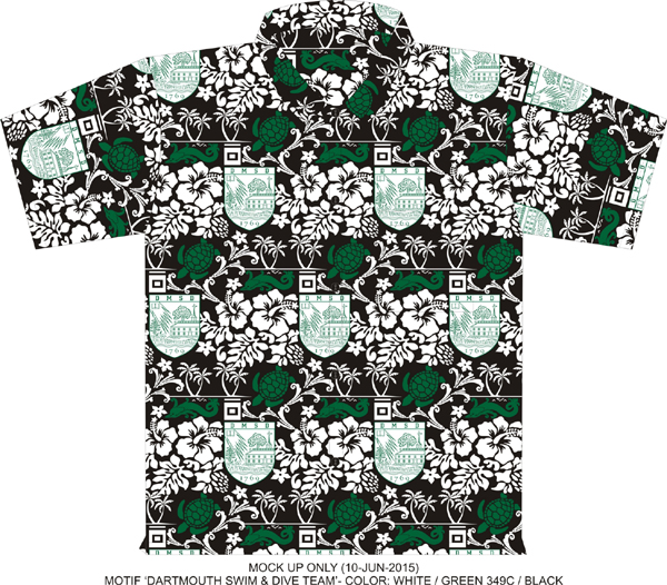 Hawaiian shirts CUSTOM made with your logo $33 95 each  Camp